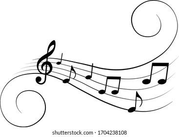 music-notes-ornamental-musical-design-26
