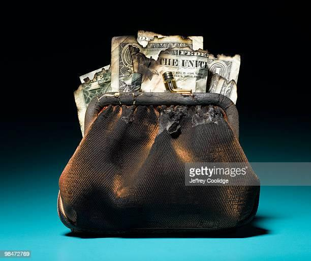 burned-womans-change-purse-picture-id984